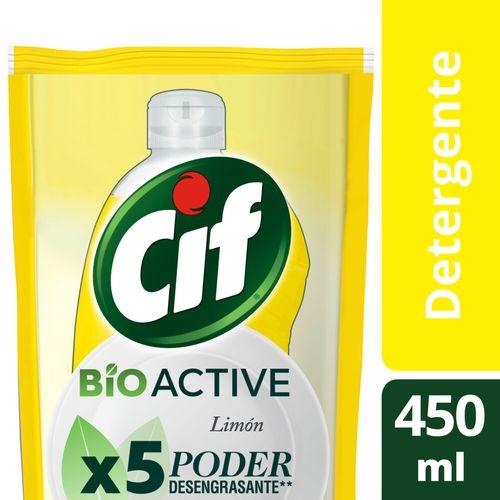 Detergente Cif Desengr Lim Bio Active Dp 450ml