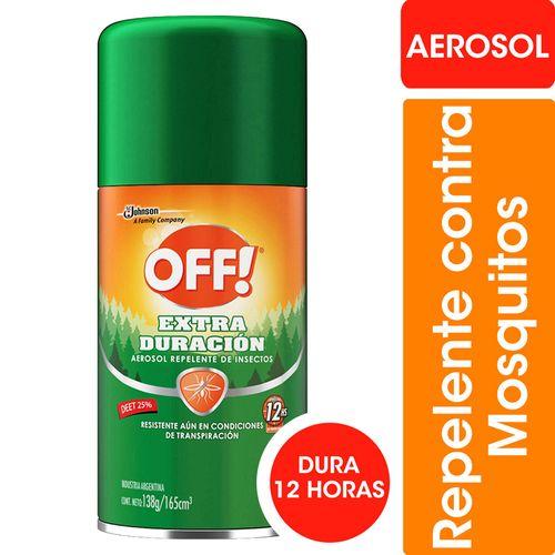 Repelente Para Mosquitos Off! Extra Duracion Aerosol 165cc