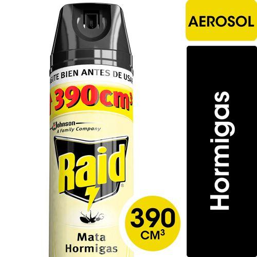 Insecticida Raid Mata Hormigas En Aerosol 390cc