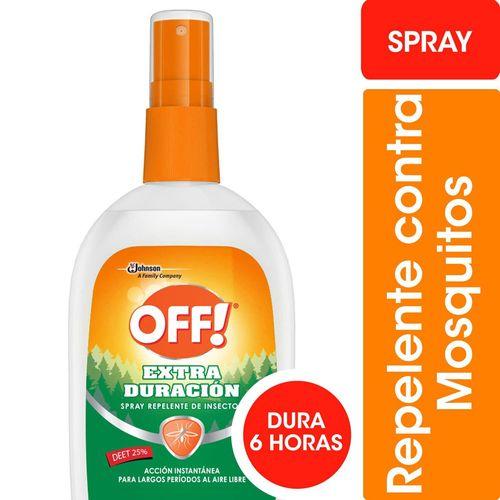 Repelente Para Mosquitos Off! Extra Duración Spray 200ml