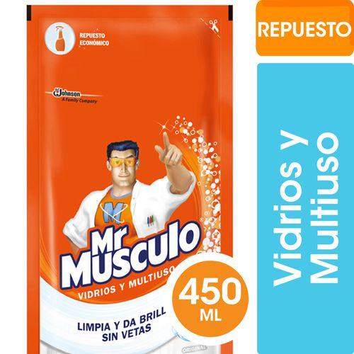 Limpiador Vidrios Y Multiuso Doy Pack Mr Musculo 450 Ml