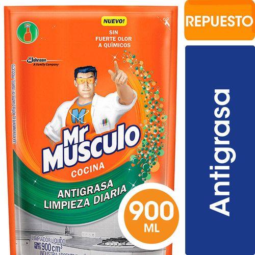 Limpiador Total Cocina Doy Pack Mr Musculo 900 Ml