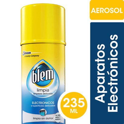 Limpiador Artículos Electrónicos Y Superficies Delicadas Blem En Aerosol 235ml