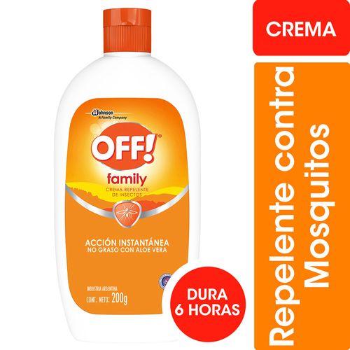 Repelente Para Mosquitos Off! Family Crema 200g