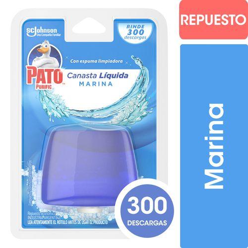 Canasta Liquida Para Inodoros Mr Musculo Repuesto 50 Ml Marina