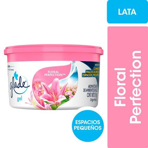 Aromatizante De Ambientes Glade Mini Gel Hogar Floral Perfection 70gr