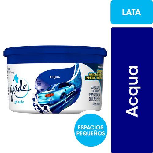 Aromatizante Para Auto Glade Acqua Minigel 70gr