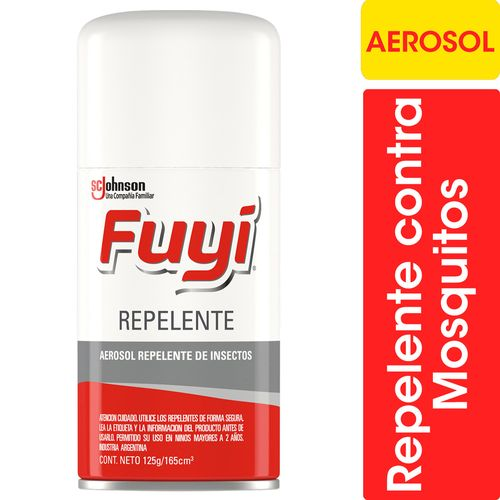 Repelente Para Mosquitos Fuyi Aerosol 165cc