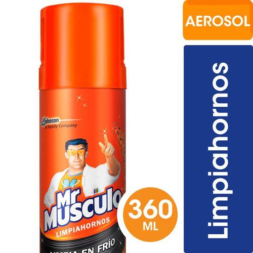 Limpiahornos Aerosol Mr. Musculo 360 Ml