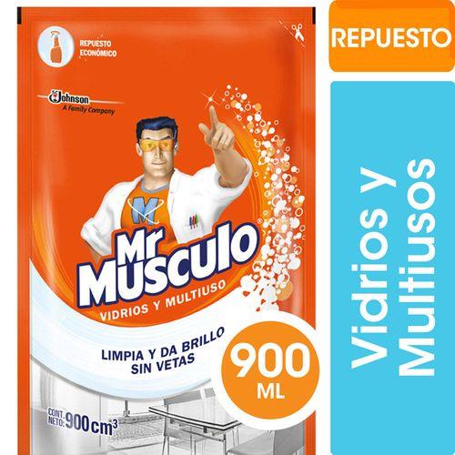 Limpiador Vidrios Y Multiuso Doy Pack Mr Musculo 900 Ml