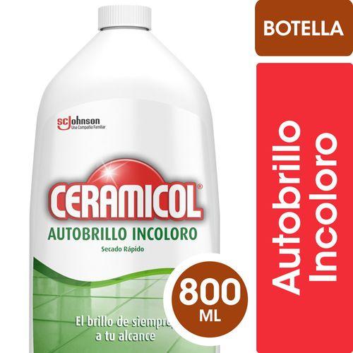 Autobrillo Ceramicol Botella 800 Ml