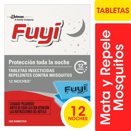 Tabletas Insecticidas Fuyi Contra Mosquitos Respuesto 12un