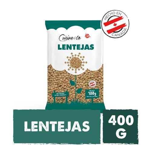 Lentejas Cuisine & Co 400gr