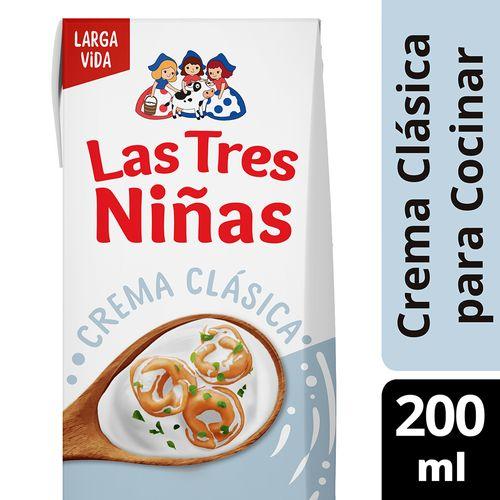 Crema De Leche L3n Uat Para Cocinar 200ml