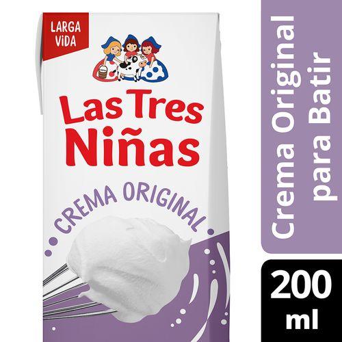 Crema De Leche L3n Uat Para Batir 200ml