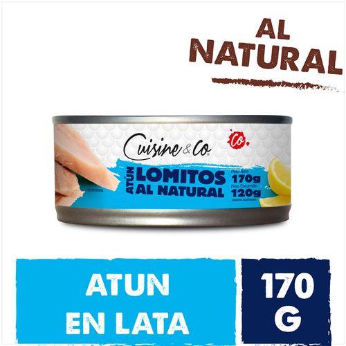 Lomo De Atun Al Natural Cuisine & Co 120 Gr