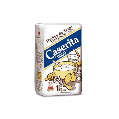 Harina Caserita 0000 1 Kg