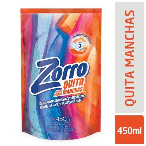 Quitam. Líquido Zorro Doy Pack 450ml