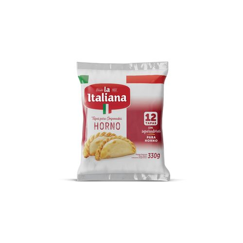 Tapas Para Empanadas La Italiana Para Horno 330 Gr