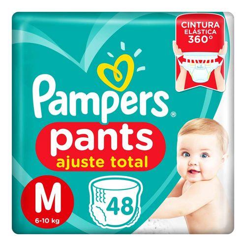 Pañales Pampers Pants Ajuste Total M 48 Un