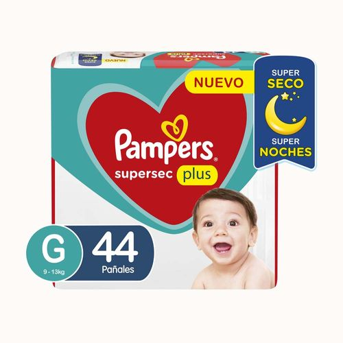 Pañal Pampers Supersec G X44un