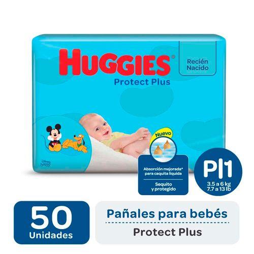 Pañal Huggies Protect Plus P X50un