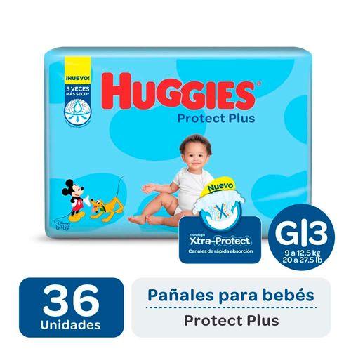Pañal Huggies Protect Plus G X36un