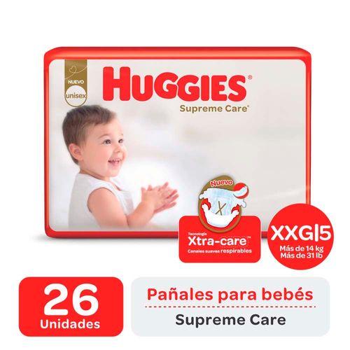 Pañal Huggies Supreme Care Xxg X26un
