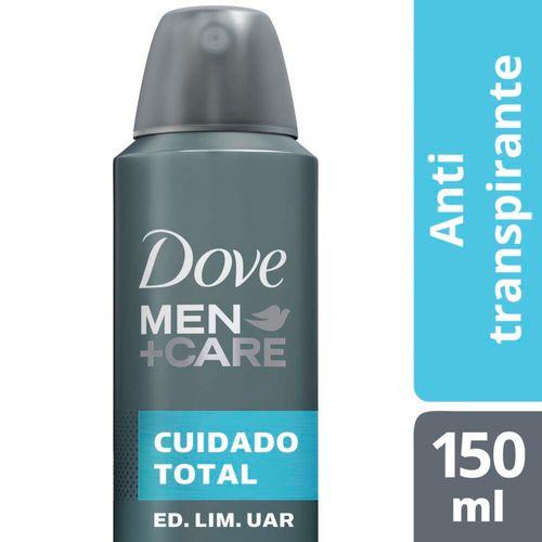 Desodorante Antitranspirante Dove Cuidado Total En Aerosol 150 Ml