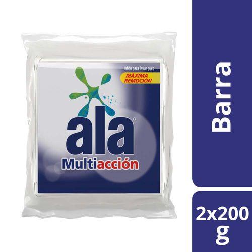 Jabón En Pan Ala Multiacción 200 G Multipack