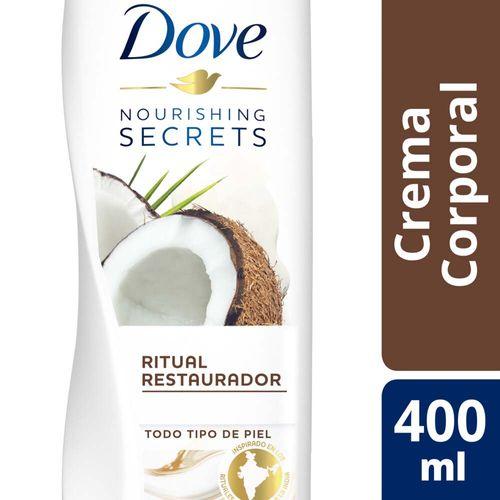 Crema Corporal Nourishing Secrets Dove Coco Y Almendras 400 Ml