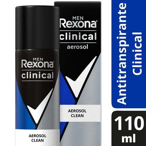 Desodorante Antitranspirante Rexona Men En Aerosol 110 Ml