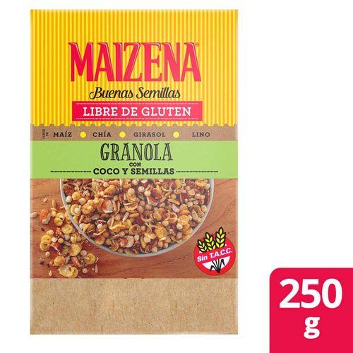 Granola Maizena Coco Y Semillas Sin Tacc 250 G