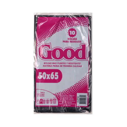 Bolsas Residuo Good 50x65 X10 Un