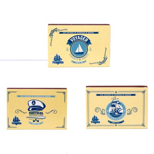 Fósforos Fragata Nautical X220