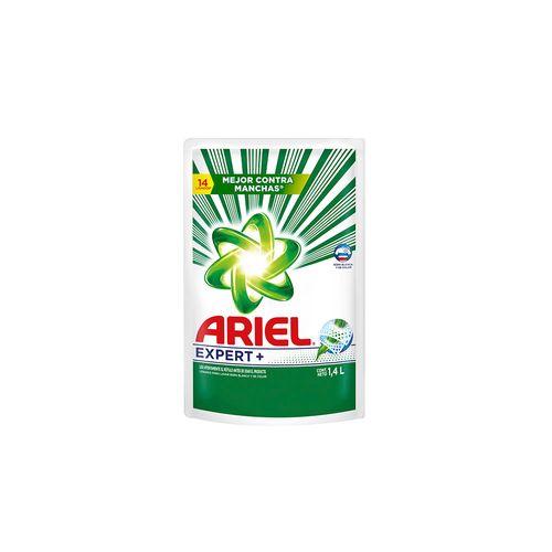 Jabón Líquido Ariel Expert Limpieza Profunda 1,4 L