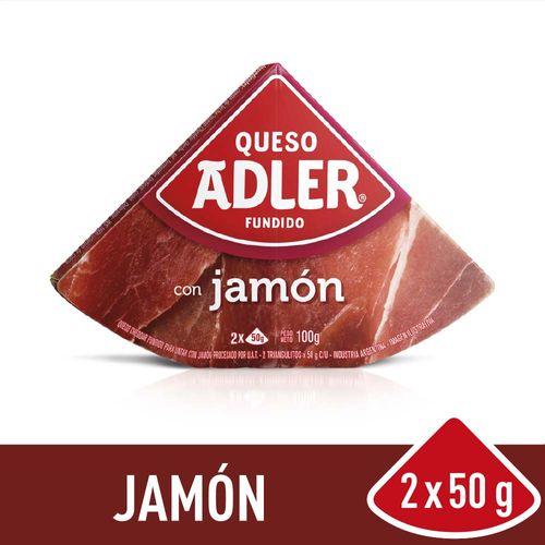 Queso Adler Jamón 100 Gr