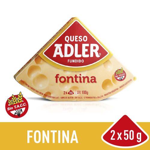 Queso Adler Fontina 100 Gr